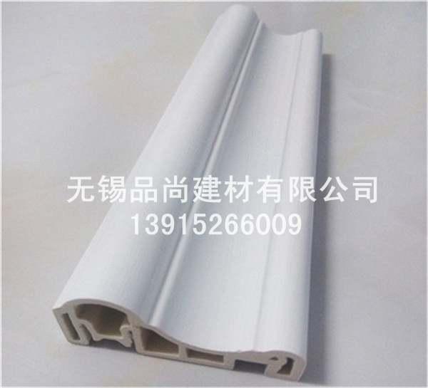 竹木纤维护墙板欧式线条