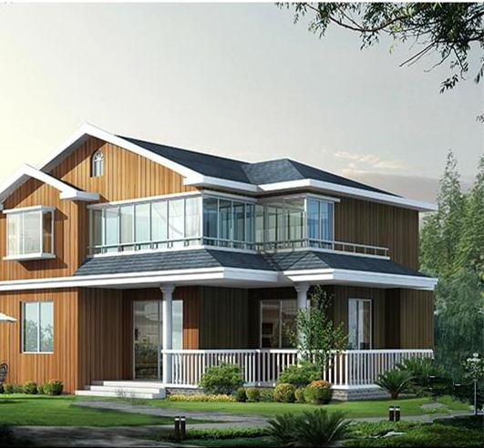 木纹彩钢房屋工程